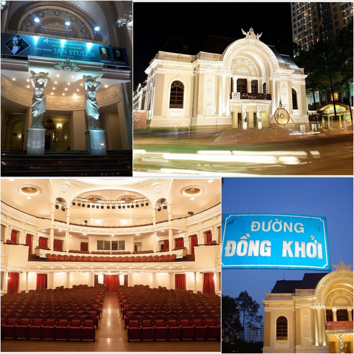 The Municipal Theater Ho Chi Minh