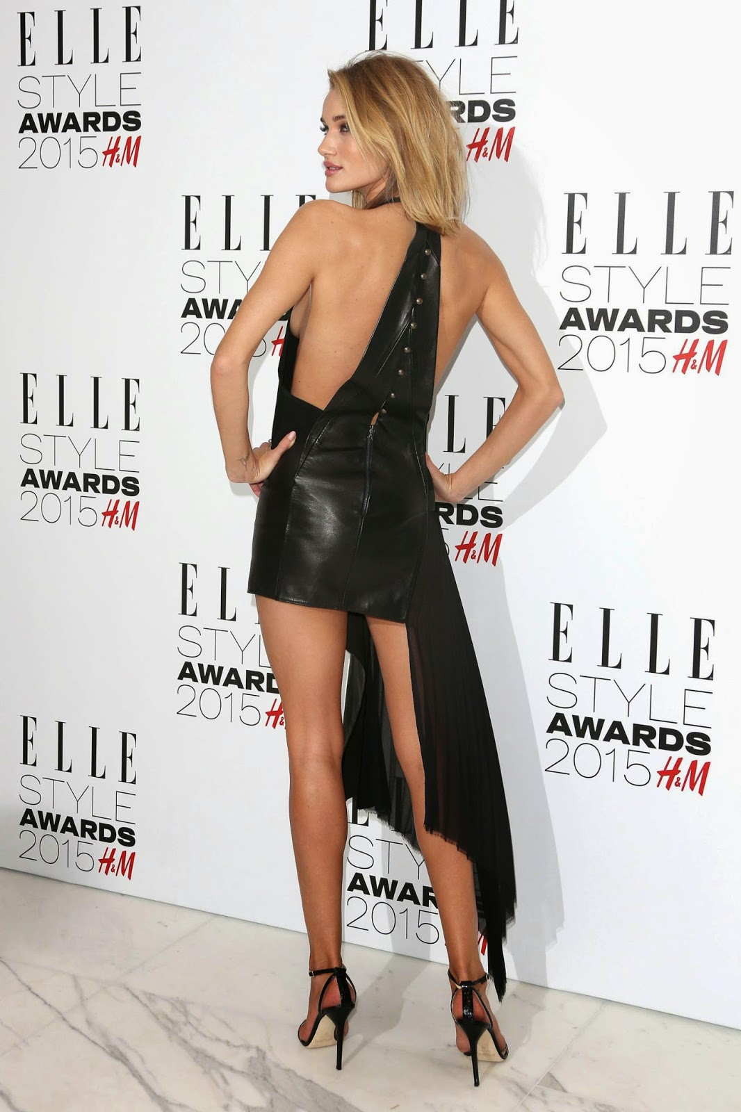 Rosie Huntington-Whiteley at Elle Style Awards 2015 in London