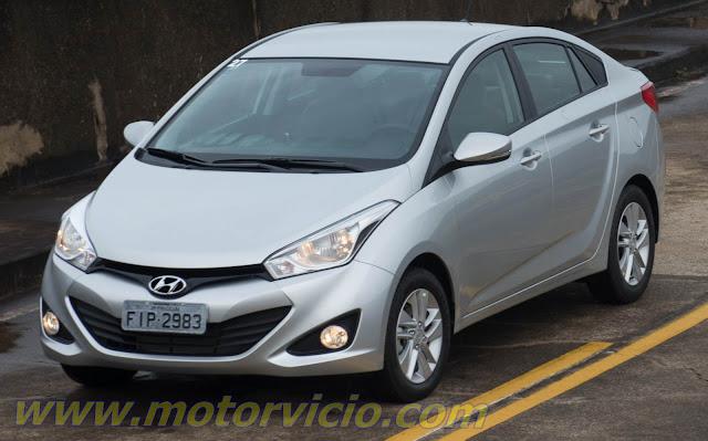 Hyundai HB20 Sedan - Prata
