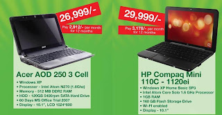 Safaricom and Kenya Commercial Bank (KCB) offers Laptops on loan