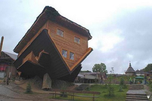Unique Architecture Design Upside Down Home