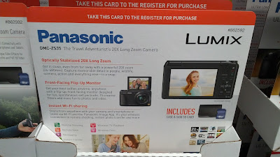 Panasonic Lumix DMC-ZS35 Digital Camera has 16mp and 20x zoom