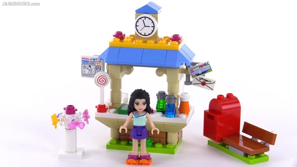 LEGO Friends Emmas Tourist Kiosk Review Set 41098
