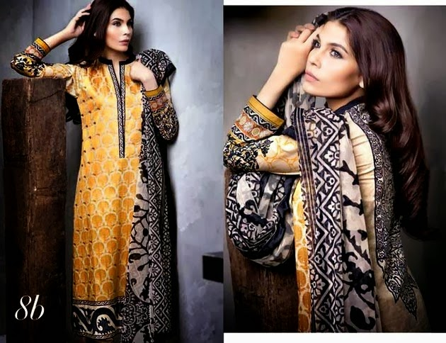 Front & Back Printed Lawn Collection