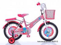 Sepeda Anak United Sweety Girl dengan Rangka Aluminium Alloy