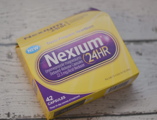 Nexium level protection, all night protection, purple pill, 24 hour relief, heartburn relief, acid reducer