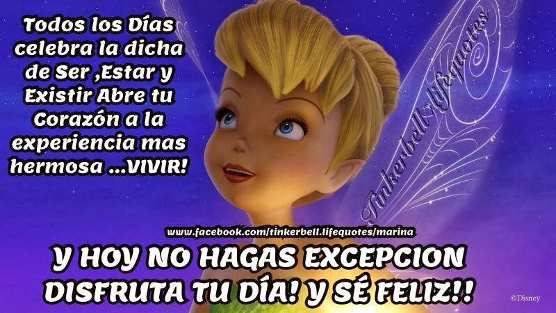 Imágenes con frases de Tinkerbell - Imagui