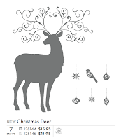 StampinUP! stamp set: Christmas Deer