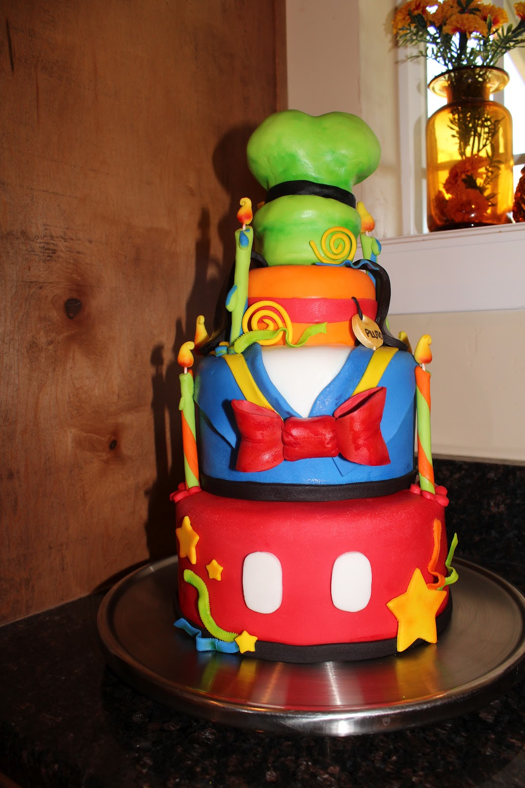Kellis Kakez Disney Birthday Cake