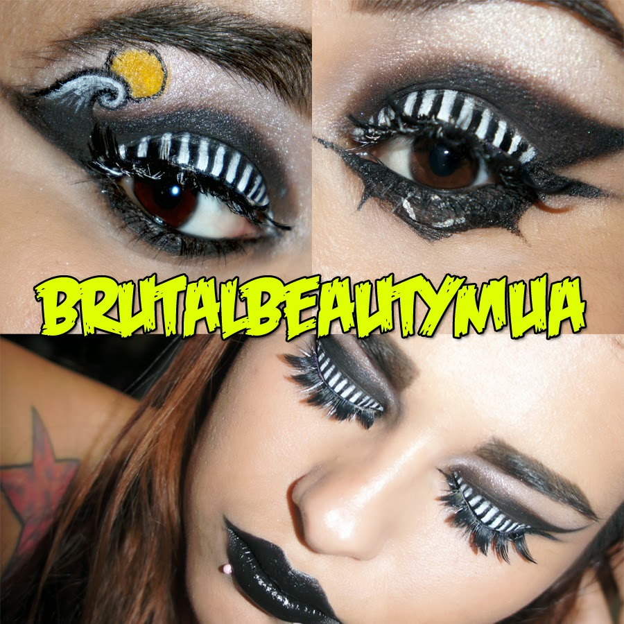 Brutal Beauty The Nightmare Before Christmas Makeup
