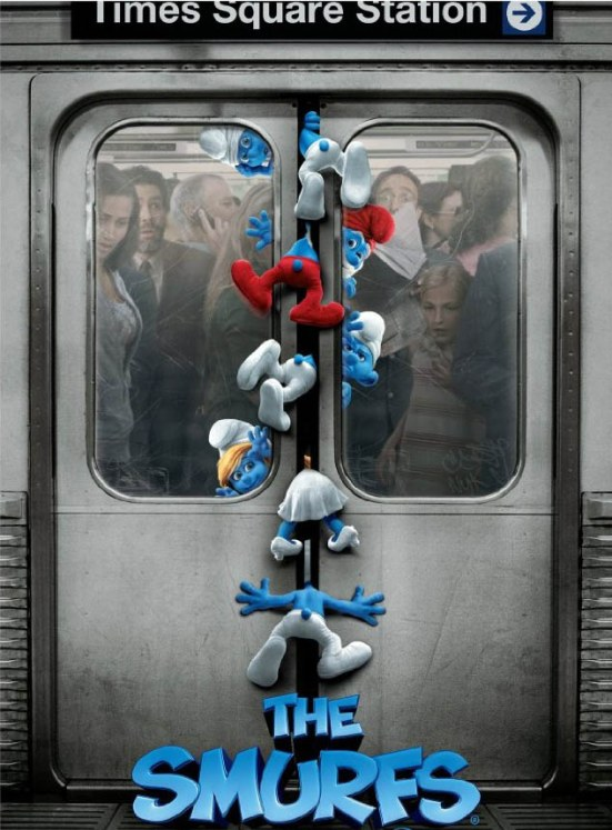 The Smurfs movie poster download