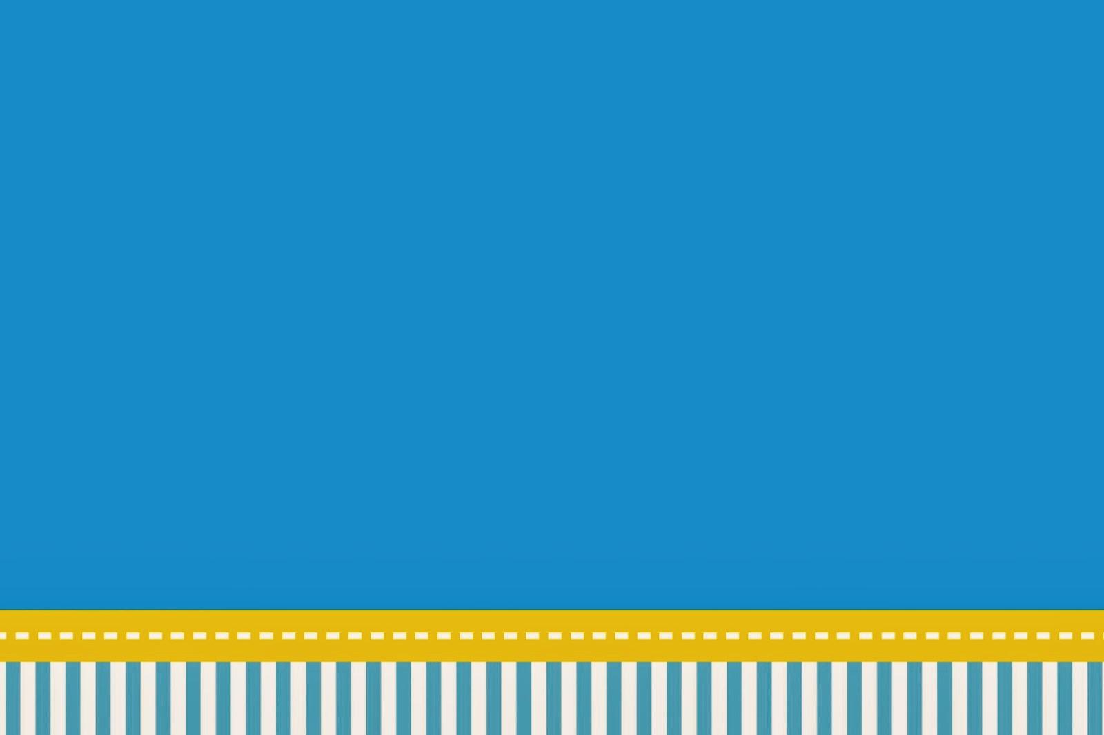 Rayas Celestes y Amarillas: Imprimibles e Invitaciones para ...