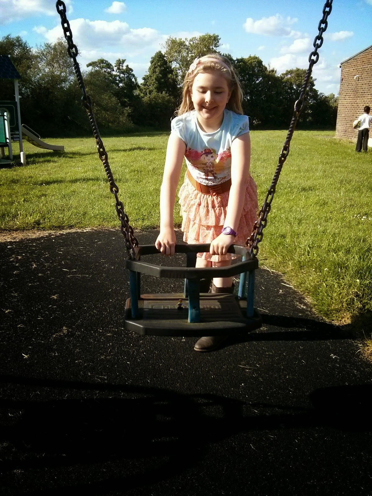Being pushed on the Swing
