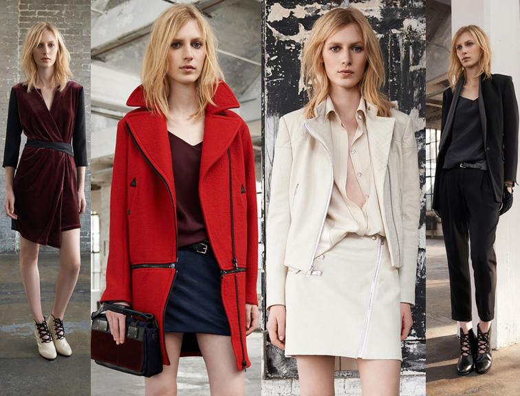 Rag & Bone Resort 2014 Collection Julia Nobis Model