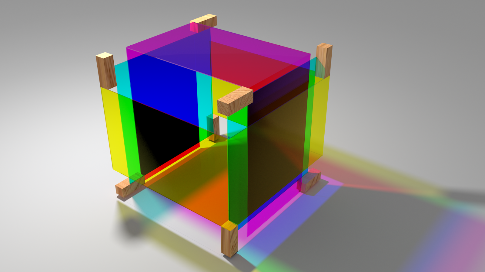 Parabolic Dimensions Studio: Die subtraktive Würfel - Studentenprojekt