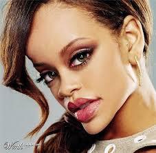 Gambar Karikatur Rihanna Artis Hollywood Cebrities HD Caricature