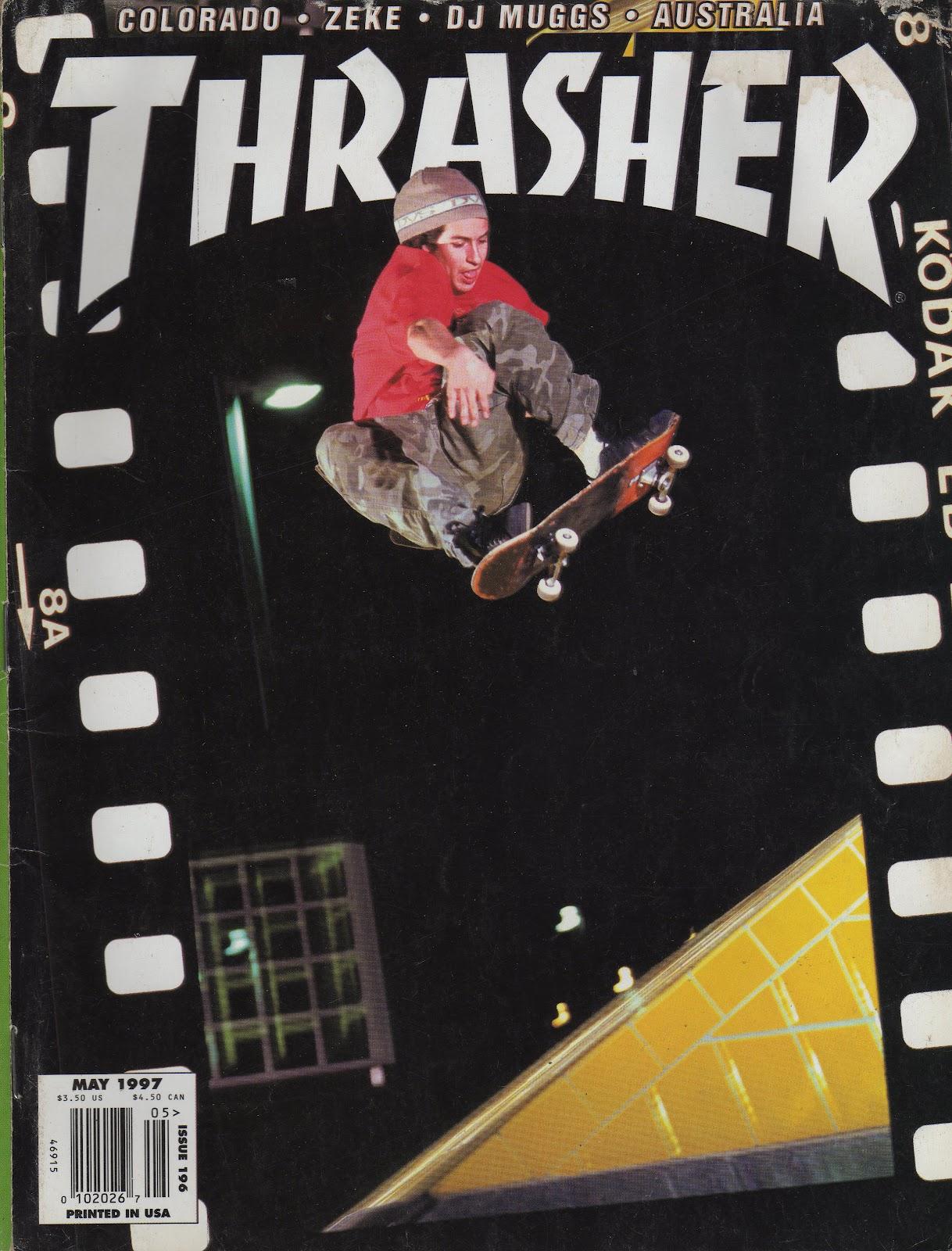 Art Of Makenoize Vintage Thrasher Magazines