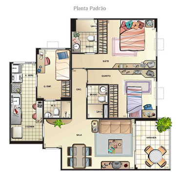 Bloglove plantas de casas grandes for Modelos de casas grandes