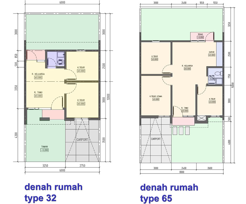 Contoh Denah Rumah Sederhana 2013  di Rumah Minimalis