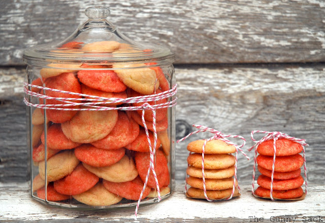 Pink Sugar Cookies In A Jar