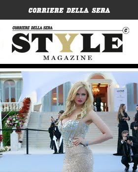 """AUDREY FOR """"STYLE"""" CORRIERE DELLA SERA"""