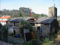 Vivienda unifamiliar en construcción en Culleredo
