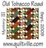 mystery quilt old tobacco road