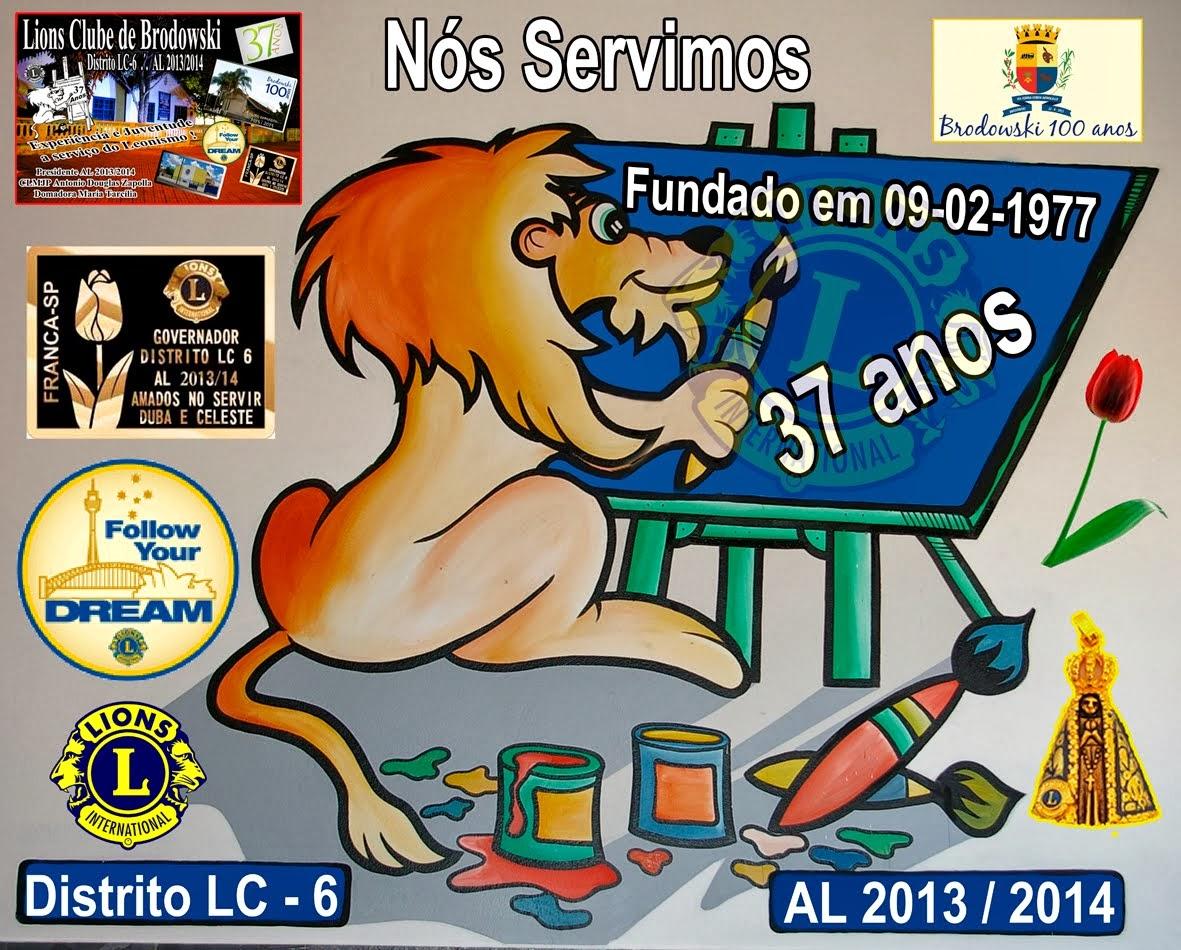 LIONS CLUBE DE BRODOWSKI 37 ANOS