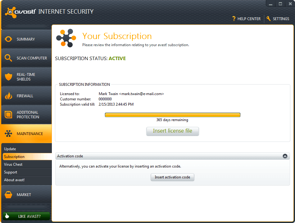 Compare with Avast! Pro Antivirus and Internet Security
