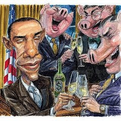 Obama and Wall Street Pigs