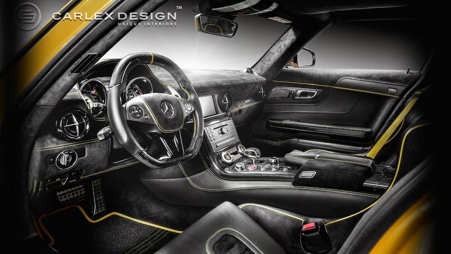 【動画】「メルセデスSLS AMG」の内装をカスタムする様子はこんなに繊細