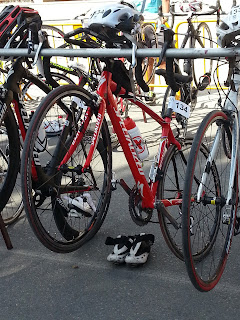 Bicicleta del Triatleta Bloguero.