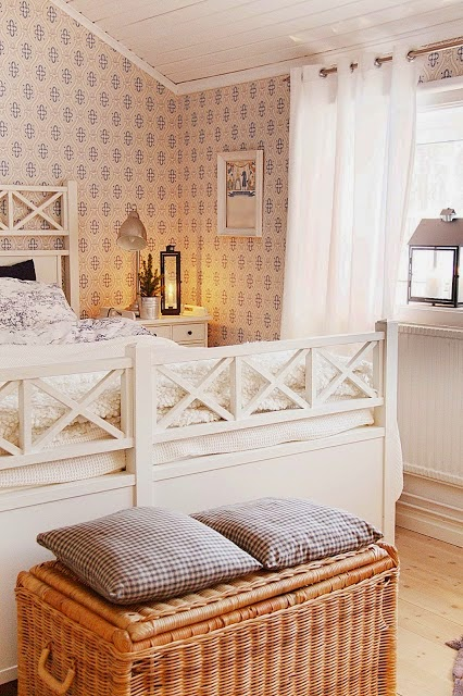 "Jag vann bloggtävlingen ""Sveriges vackraste sovrum""."