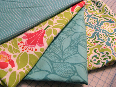 Fabrics for pajama pants from the Lush Collection by Patty Young for Michael Miller