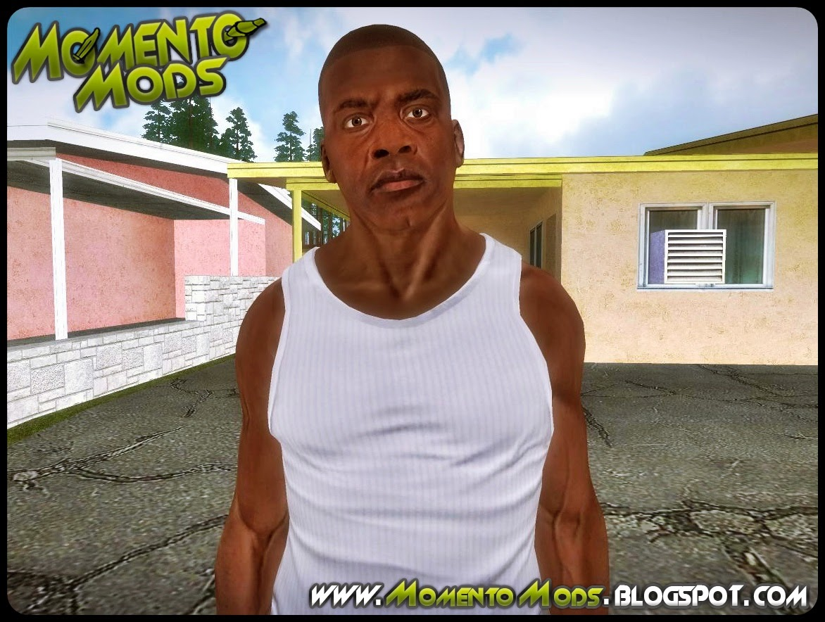 GTA SA - Skin Do Franklin Em HD Convertido Do GTA V