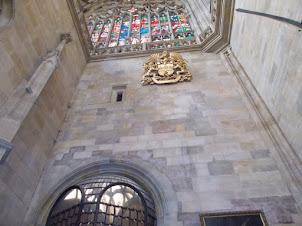 "St Wenceslas Chapel ""CROWN VAULT"" where the ""Prague Crown Jewels"" are secured."