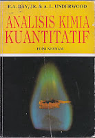 toko buku rahma: buku ANALISIS KIMIA KUANTITATIF, pengarang day, penerbit erlangga
