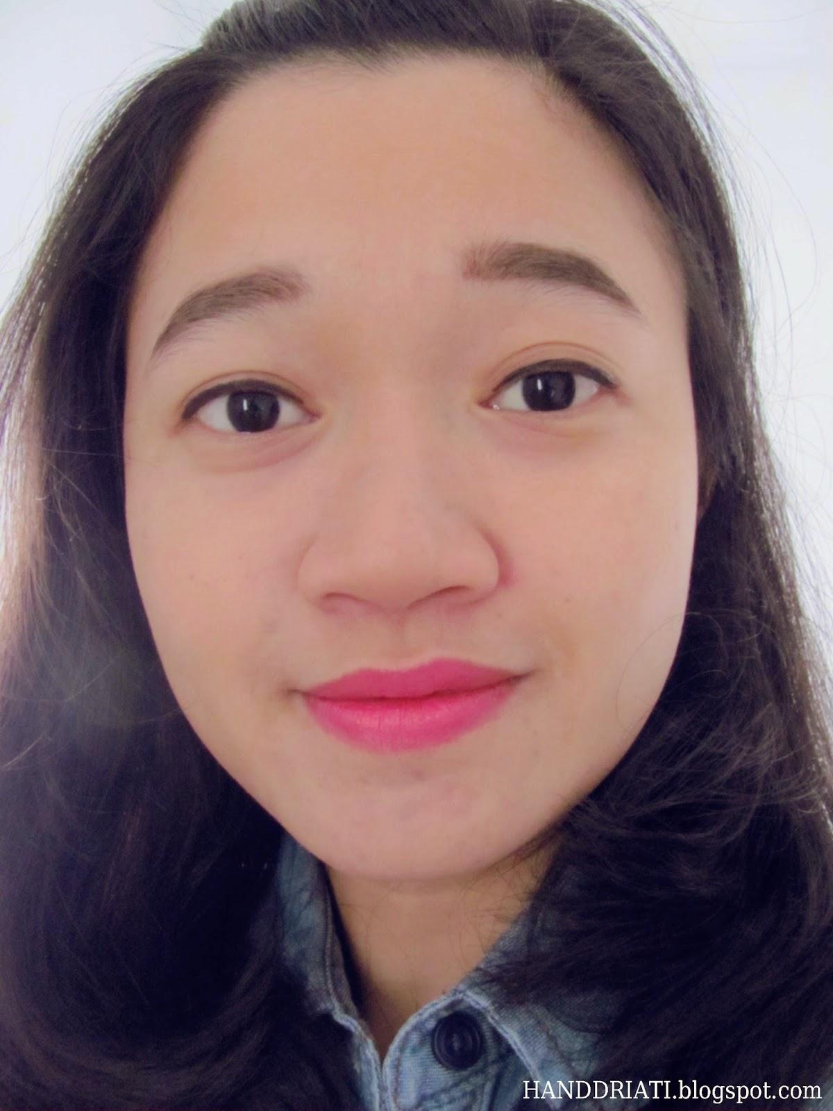 Ultramatte Lipstick by Zoya Cosmetics (Rosette)_Contoh Pemakaian