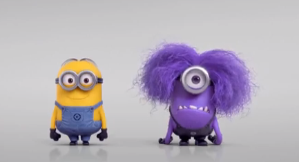 Living Free in Him: Purple Minions