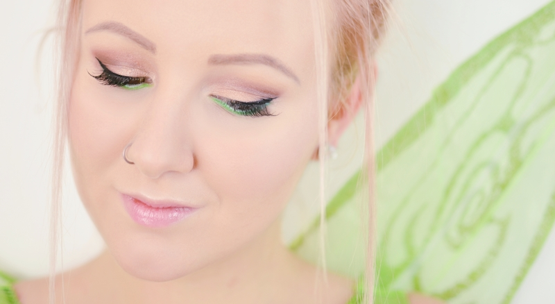 Tinkerbell_Make_Up-Frisur_Kostüm_Fasching_Karneval