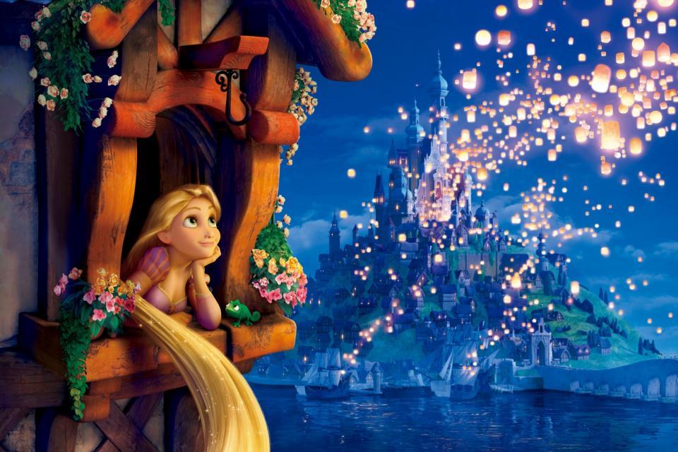 Fondo de Rapunzel para niñas, imagenes de Rapunzel, fondos de ...