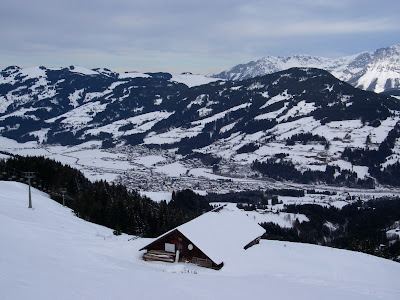 Kitzbuhel, Switzerland,  skiing domains