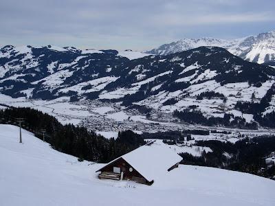 Kitzbuhel, Switzerland, skiing domains