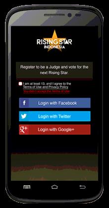 Cara Daftar Applikasi Rising Star Indonesia