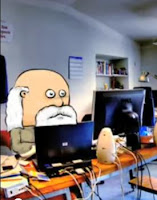 Mr. Winkle in computer lab