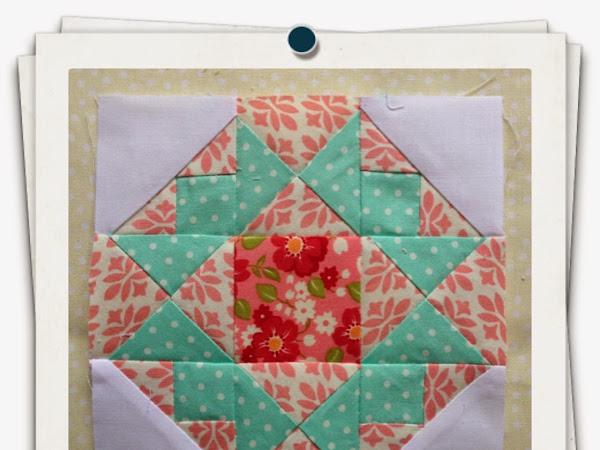Chatelaine- Free BOW Sampler Quilt Block 12