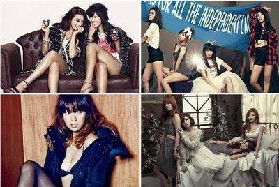 Mais sexys cantoras de K-Pop