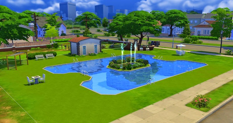 19 sims 4 blog freizeitbad willow creek for Pool designs sims 4