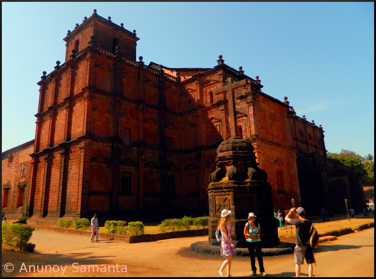 Old Goa Monuments - Basilica of Bom Jesus