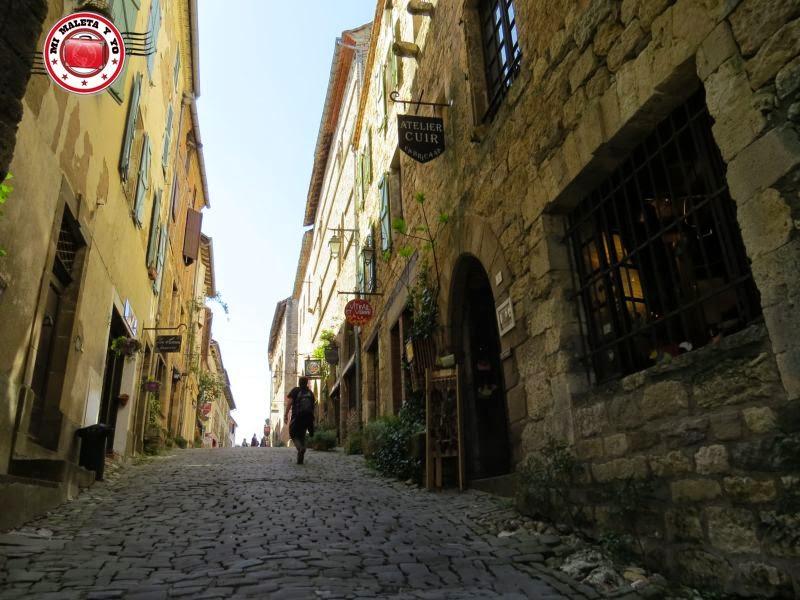 Calles de Cordes sur Ciel, Francia